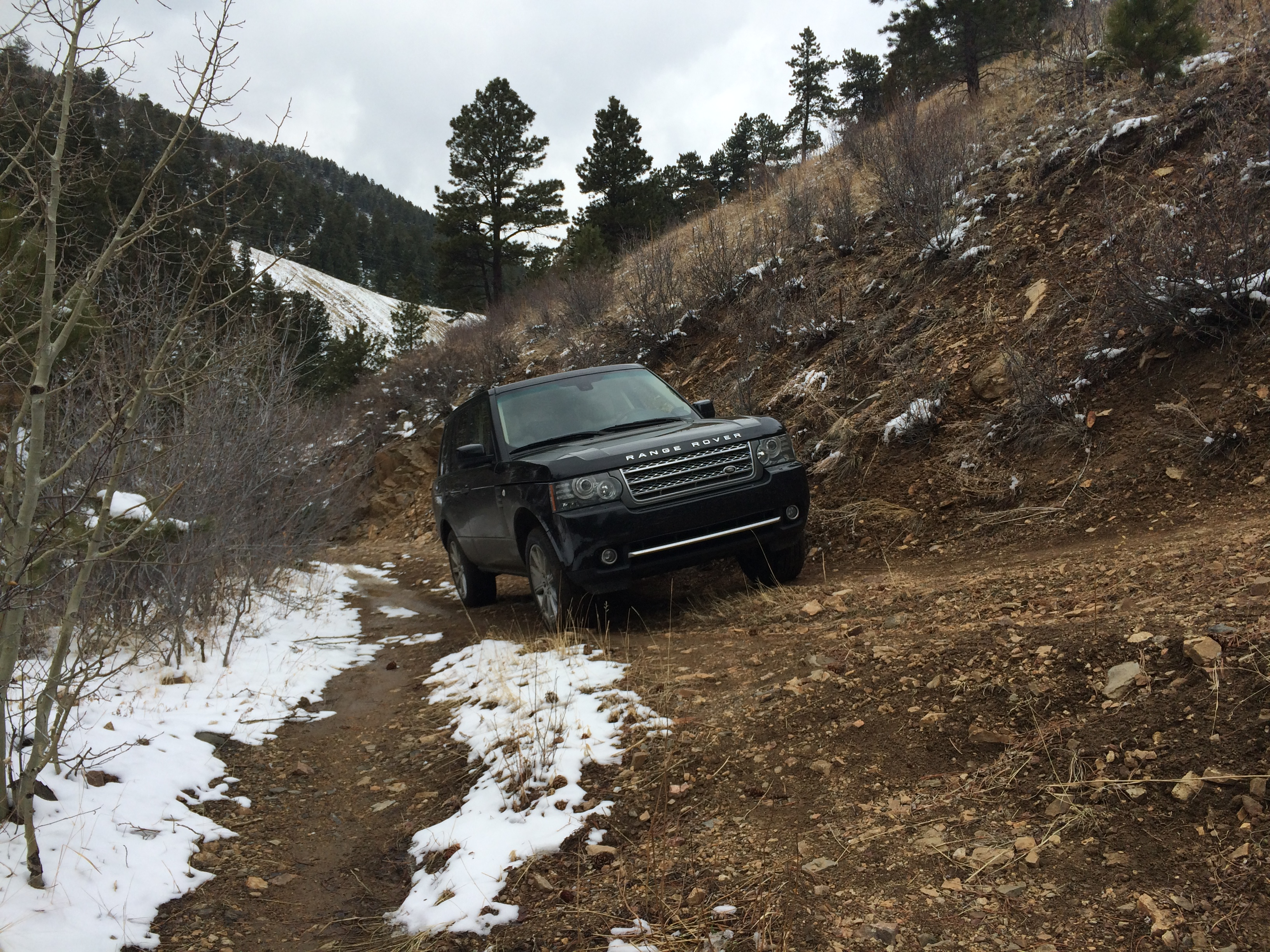 2011 Range Rover Supercharged off road in Boulder