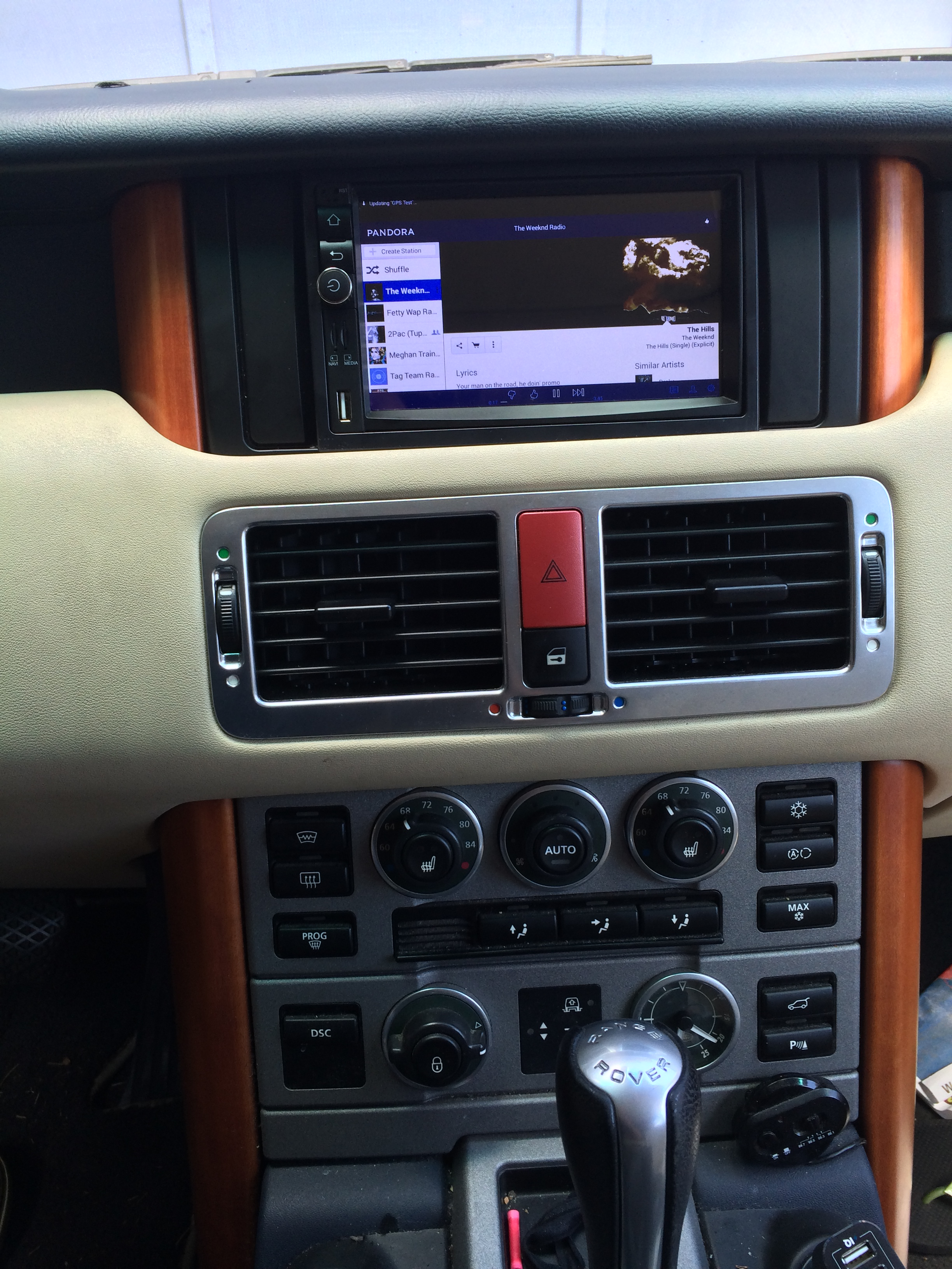 Upgrading Range Rover Stereo and Navigation: Part 1 Off Road