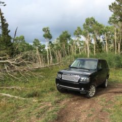 Miners Gulch, Yankee Hill in a Range Rover 2011 SC